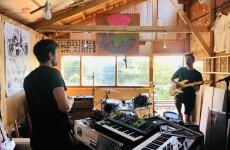 4_3 Zkeletonz at Fuzzbrain Studios by Gav the singer (1)