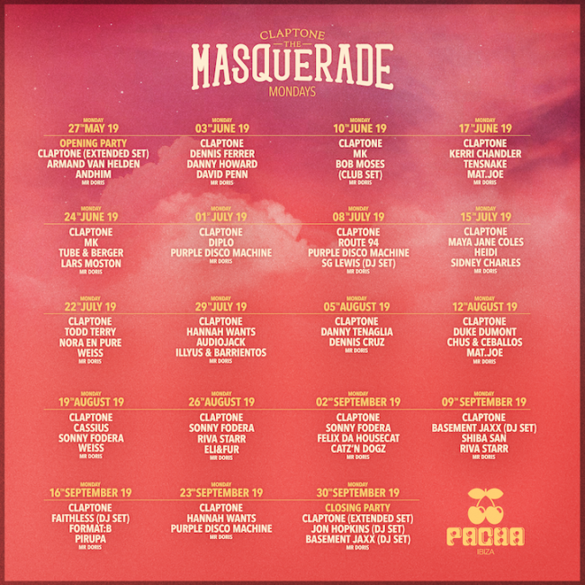 CLAPTONE FULL LINE UP SQUARE 1