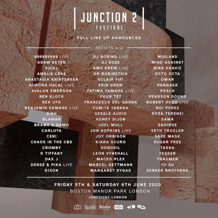 Junction 2 lineup