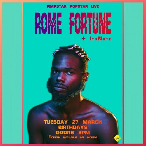 Rome Fortune birthdays