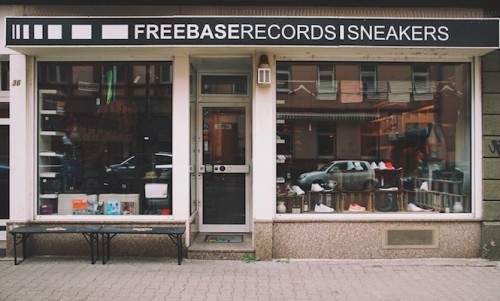 Freebase Records in Frankfurt